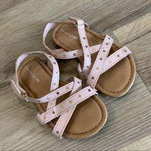 Toddler pink sandals